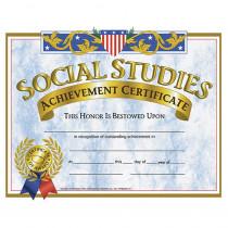 H-VA575 - Certificates Social Studies 30/Pk 8.5 X 11 in Social Studies