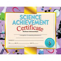 H-VA671 - Science Achievement 30/Pk 8.5 X 11 Certificate Inkjet Laser in Science