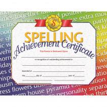 H-VA676 - Spelling Achievement 30/Pk 8.5X11 Certificates Inkjet Laser in Language Arts