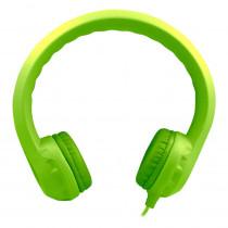 HECKIDSGRN - Green Indestructible Foam Headphone Flexphone in Headphones