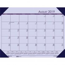 HOD012573 - Academic Ecotones Desk Pad Orchid Paper Cordovan Holder in Calendars