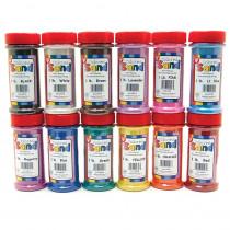 HYG29129 - Bucket O Sand 12 Asstd Colors 1 Lb Each in Sand