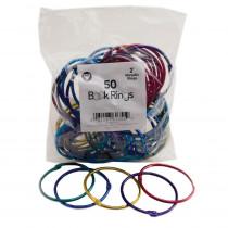 HYG61355 - Book Rings 2 50 Per Pack in Book Rings