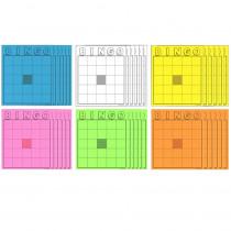 HYG87125 - Blank Bingo Cards Assorted Colors in Bingo