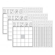 HYG87130 - Blank Bingo Cards White in Bingo