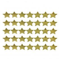 HYG94718 - Sticker Strips 5 Strips Gold Stars in Stickers