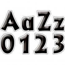 LAS1713 - 4In Letter Pop Outs Black Tie Affair in Letters