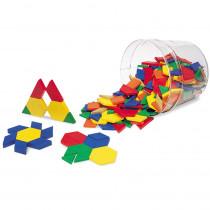 LER0134 - Pattern Blocks Plastic .5Cm 250/Pk in Blocks & Construction Play