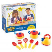 LER9155 - Pretend & Play Cooking Set 10 Pcs in Homemaking