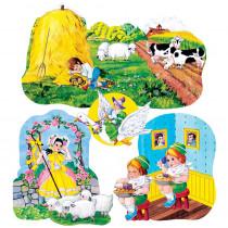 LFV22003 - Flannelboards Set 3 Nursery Rhymes Pre Cut in Flannel Boards