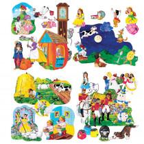 LFV22005 - Flannelboards Nursery Rhyme Complte Set in Flannel Boards