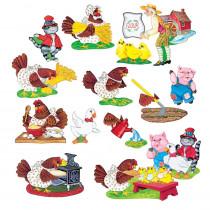 LFV22018 - Flannelboards Little Red Hen in Flannel Boards