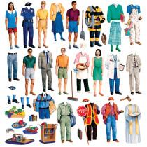 LFV22212 - Community Helpers Flannelboard Set in Flannel Boards
