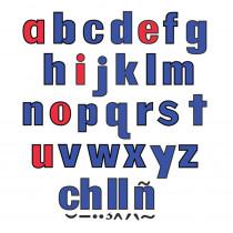 LFV22427 - Lower Case Letters Flannelboard Set in Flannel Boards