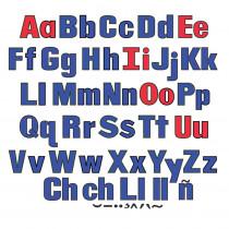 LFV22428 - Upper & Lower Case Letters Flannelboard Set in Flannel Boards