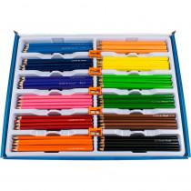 MAP832070ZV - Triangular Colored Pencil School Pk Maped in Colored Pencils