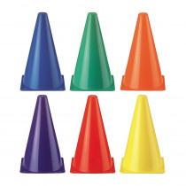MASSC9S - Rainbow Cones Set Of 6 in Cones
