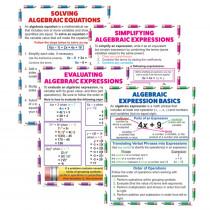 MC-P088 - Algebraic Equation Teach Poster Set in Math