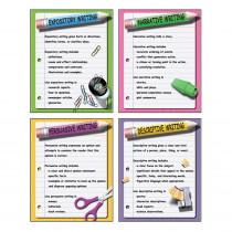 MC-P118 - Four Types Of Writing Teaching Poster Set in Language Arts