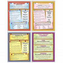 MC-P194 - Text Types Teaching Poster Set in Language Arts