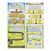 MC-P199 - Organizing Good Writing Teaching Poster Set in Language Arts