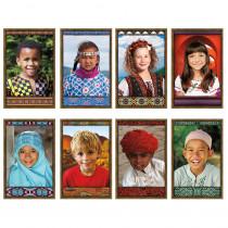 NST3031 - All Kinds Of Kids International Bulletin Board Set in Social Studies