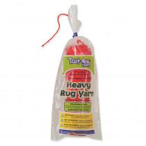 PAC04093 - Heavy Rug Yarn Red 60 Yards in Yarn
