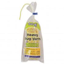PAC04153 - Heavy Rug Yarn Yellow 60 Yards in Yarn