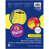 PAC1000023 - Premium Tagboard Hyper Yellow in Tag Board