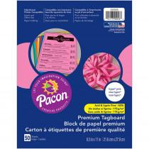 PAC1000026 - Premium Tagboard Hyper Pink in Tag Board