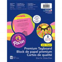 PAC101161 - Brights Premium Tagboard Assortment in Tag Board