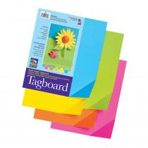 PAC1709 - Colorwave Super Bright Tagboard 9 X 12 Inches in Tag Board