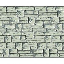 PAC56498 - Fadeless 48X12 Flagstone 4Rls/Ctn in Bulletin Board & Kraft Rolls