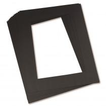 PAC72560 - Black Frames 9 X 12 in Mat Frames