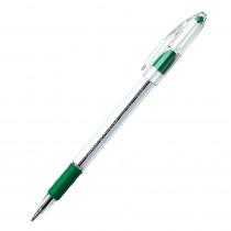 PENBK90D - Pentel Rsvp Green Fine Point Ballpoint Pen in Pens