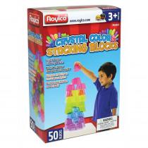 R-60310 - Crystal Color Stacking Blocks in Manipulatives