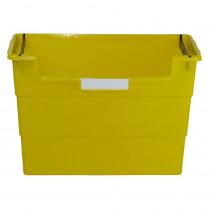 ROM77603 - Desktop Organizer Yellow in Desk Accessories