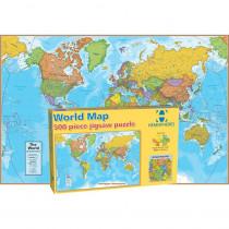 RWPHMP01 - World Map International 500 Piece in Puzzles