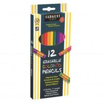 SAR227203 - 12Ct Sargent Erasable Clrd Pencil in Colored Pencils