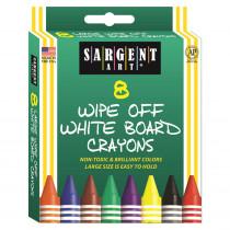 SAR350521 - Sargent Art White Board Crayons Reg in Crayons