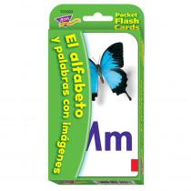 T-23023 - Pocket Flash Cards Spanish Alpha in Flash Cards