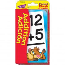 T-23033 - Pocket Flash Cards Addition Adicion in Flash Cards