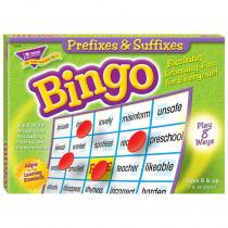 T-6140 - Prefixes & Suffixes Bingo Game in Bingo