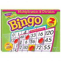 T-6141 - Multiplication & Division Bingo Game in Bingo