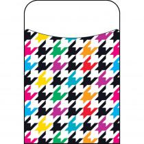 T-77032 - Houndstooth Multicolor Terrific Pockets in Organizer Pockets