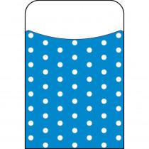 T-77044 - Polka Dots Blue Terrific Pockets in Organizer Pockets