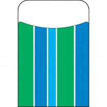 T-77049 - Stripe-Tacular Cool Blue Terrific Pockets in Organizer Pockets