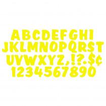 T-79303 - Ready Letters 4 Inch Splash Yellow in Letters
