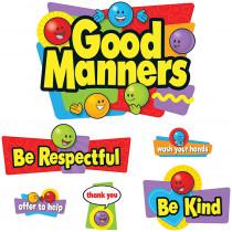 T-8152 - Bulletin Board Set Good Manners in Social Studies