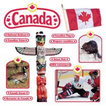 T-8172 - Bulletin Board Set Canadian Symbols Symboles Canadiens in Social Studies